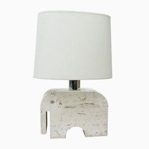 Vintage Elephant Lamp from Fratelli Mannelli