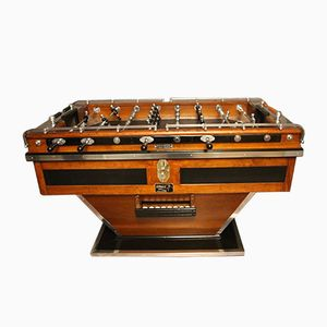 Vintage French Wooden Foosball Table
