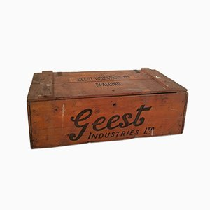 Banana Crate from Geest Industries, 1961