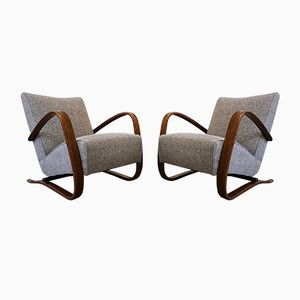 H- 269 Chairs by Jindrich Halabala for Thonet, 1930s, Set of 2