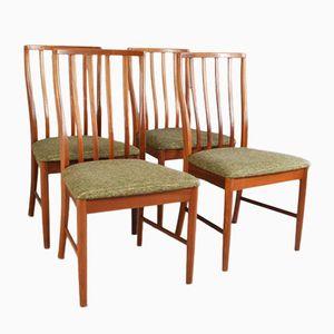 Esszimmerstühle mit Hoher Rückenlehne von Leslie Dandy für G-Plan, 1970er, 4er Set