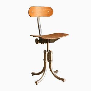 Werkstatt Stuhl von Biénaise, 1950er