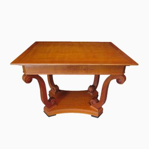 Table Basse en Cerisier, 1900s
