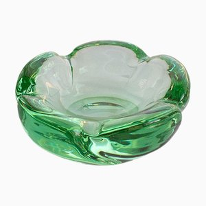 Cigar Crystal Ashtray from Daum Nancy, 1960s