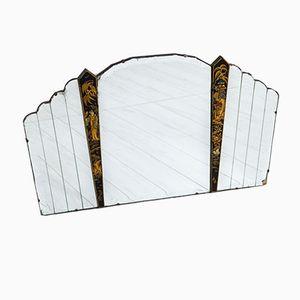 Vintage Art Deco Chinoiserie Mirror