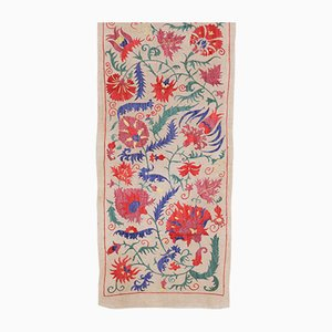 Tapisserie Uzbek Vintage en Soie