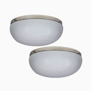 Functionalist Ceiling or Wall Lights from Napako, 1930s, Set of 2