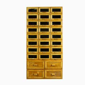Mid-Century 28 Drawer Haberdashery Cabinet