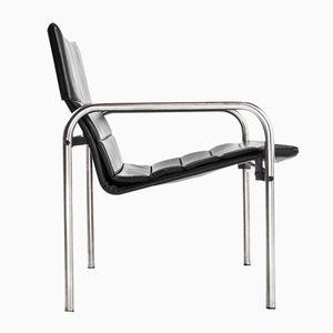 Ultrex Leder Armlehnstuhl von Just Meyer für Kembo, 1970er