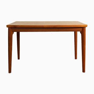 Mid-Century Extendable Bow-Shaped Teak Dining Table from Uldum Mobelfabrik