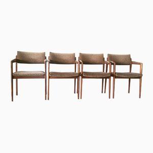 Modell 641PF Stühle von Thonet, 1961, 4er Set