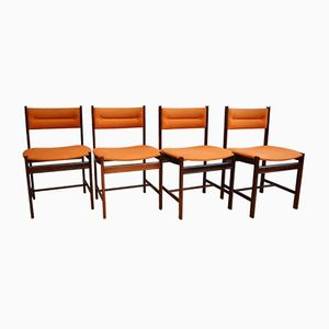 Danish Rio Rosewood Dining Chairs from Dyrlund, 1970s, Set of 4