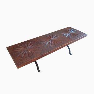 Vintage Brutalist Table