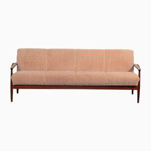 Vintage Danish 3-Seater Teak Sofa