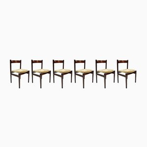 Vintage Model 101 Chairs by Gianfranco Frattini for Cassina, Set of 6