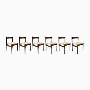 Vintage Modell 101 Stühle von Gianfranco Frattini für Cassina, 6er Set
