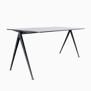 Vintage Pyramid Compass Table by Wim Rietveld for Ahrend de Cirkel