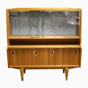 Vintage Wooden Bar Cabinet, 1960s