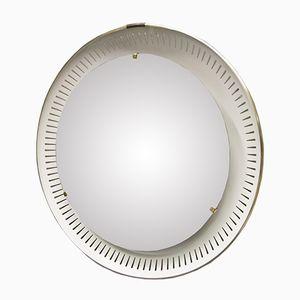 Miroir Vintage Noir par Ernest Igl pour Hillebrand Lighting