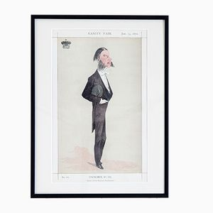 Affiche Master of Her Majesty's Buckhounds par Vanity Fair
