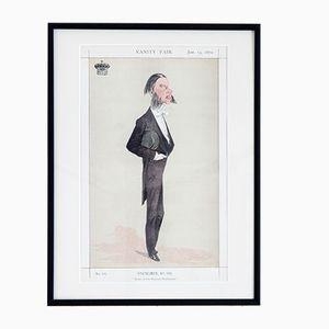 Master of Her Majesty's Buckhounds Druck von Vanity Fair