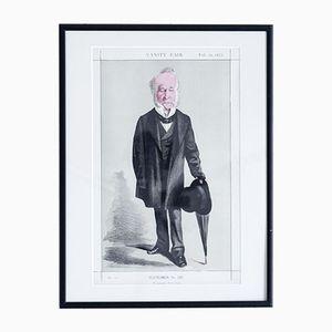 He Defended Hyde Park Druck von Vanity Fair, 1872