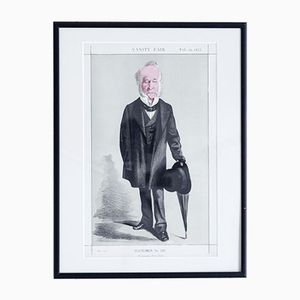 He Defended Hyde Park Print by Vanity Fair, 1872