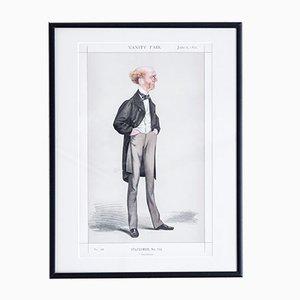 Tom Brown Vanity Fair Druck, 1872