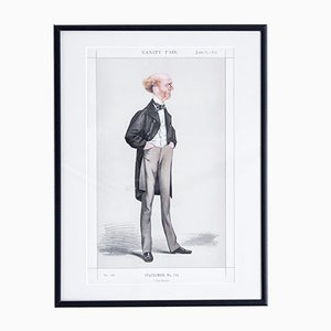 Tom Brown Vanity Fair Print, 1872