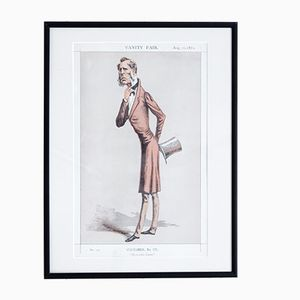 The Eccentric Liberal Vanity Fair Print, 1872