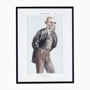 The Police Champion Vanity Fair Druck, 1872