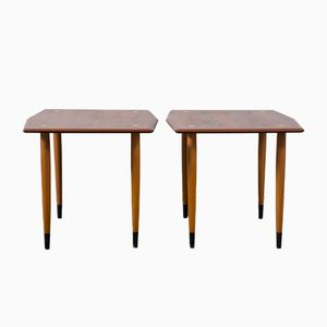 Vintage Side Tables from Dux, Set of 2