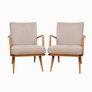 Mid-Century Armchairs from Knoll Antimott, Set of 2