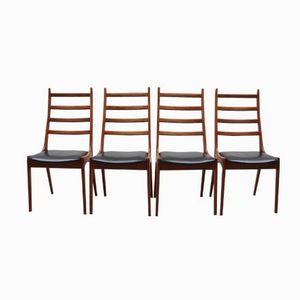 Mid-Century Teak Chairs from KS Møbler, Set of 4