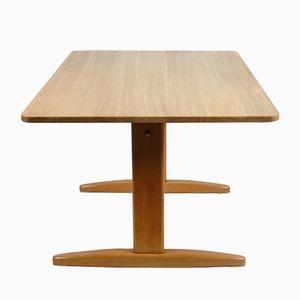 Vintage 6466 Eichenholz Tisch von Børge Mogensen für CM Madsen