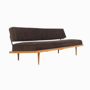 Modular Teak and Metal Daybed, 1960s