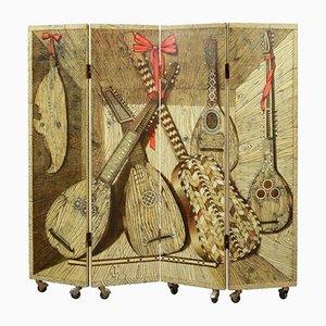 Divisorio vintage in legno di Piero Fornasetti