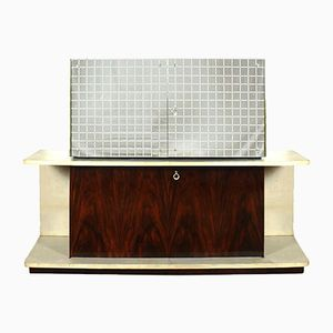Art Deco Cubist Dry Bar, 1930s