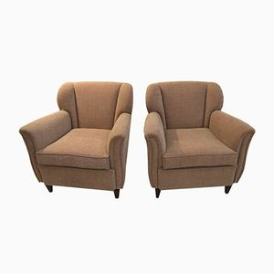 Italian Armchairs, 1930s, Set of 2