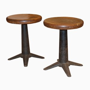 Stools from Singer, 1920s, Set of 2