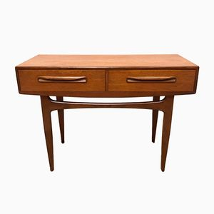 Mid-Century Fresco Console Table by Victor Wilkins for G Plan