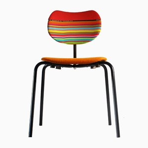 Mid-Century Multicolored Conference Chair from Thonet