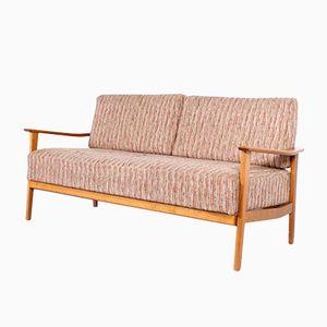 Letto divano in faggio, Germania, anni '60