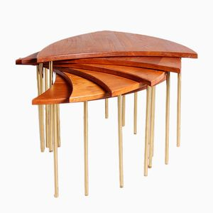 No. 523 Coffee Table by Peter Hvidt & Orla Molgaard Nielsen for France & Son, 1950s