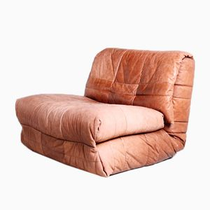 Lounge Chair with Daybed Function, 1970s