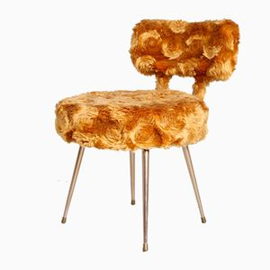 French Plush Chair from Pelfran, 1950s