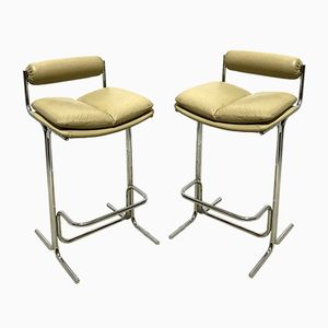 Eleganza Bar Stools by Tim Bates for Pieff, 1960s, Set of 2