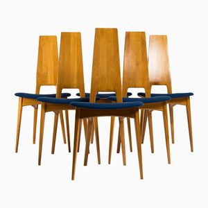 Chaises Styles Scandinaves, 1960s, Set de 6