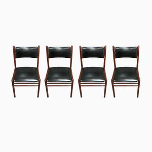 Scandinavian Chairs from Asko, 1950s, Set of 4