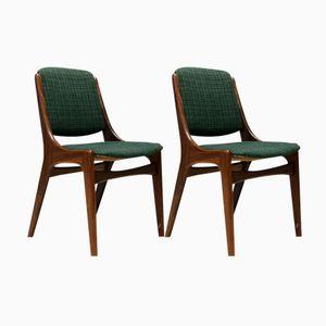 Monaco Esszimmerstühle Teak von Mahjongg, 1960er, 4er Set